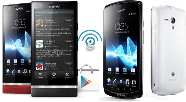 Sony Xperia P and Xperia neo L