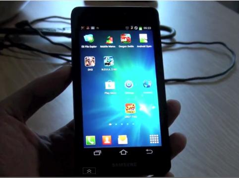 design of Galaxy S3