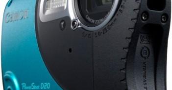 Canon PowerShot D20 rugged camera
