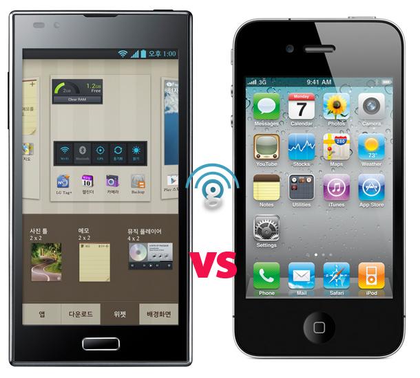 LG Optimus LTE2 vs the iPhone 4S