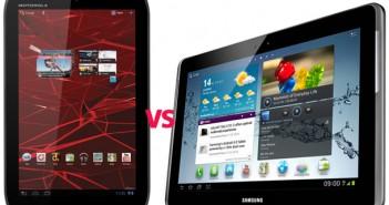 Motorola Xoom 2 Xyboard vs Samsung Galaxy Tab 2 10.1