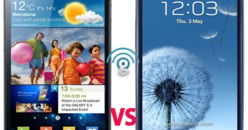 Samsung Galaxy S2 vs Galaxy S3 comparison