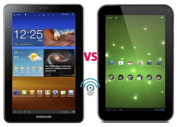 Samsung Galaxy Tab 7.7 vs Toshiba Excite 7.7