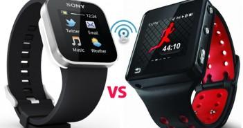 Sony SmartWatch vs Motorola MOTOACTV