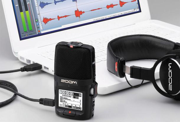 Zoom H2n recorder3
