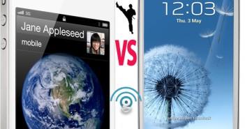 iPhone 4S vs Samsung Galaxy S3