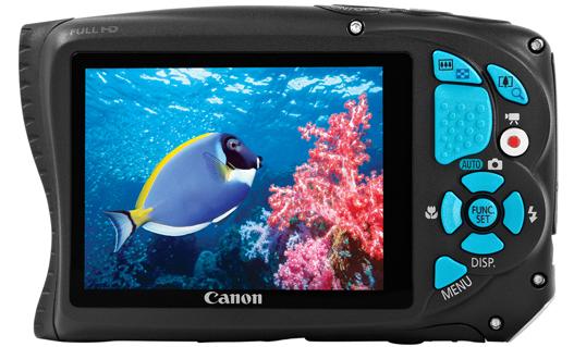 Canon PowerShot D20 back