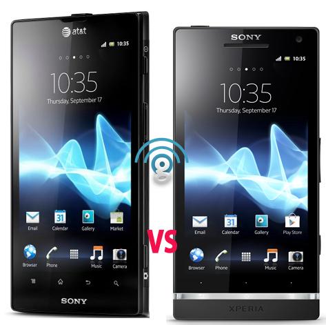 Sony Xperia Ion ATT vs Sony Xperia S
