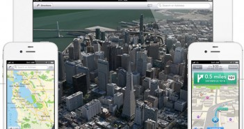 iOS 6 maps overview