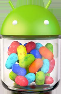 Android 4.1 Jelly Bean logo