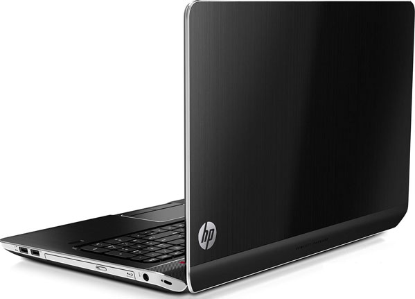 HP dv7t-7000 Series back