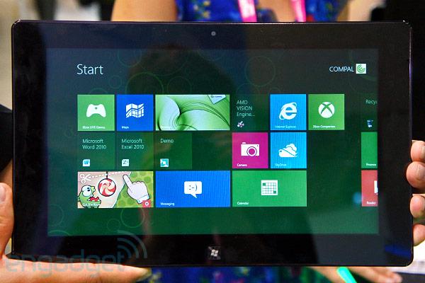 amd windows 8 tablet