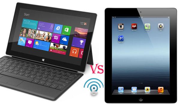 Microsoft Surface vs Apple iPad