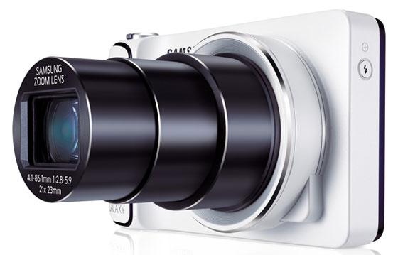 Samsung Galaxy camera zoom lens