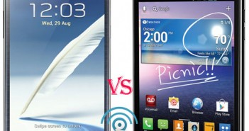 Samsung Galaxy Note 2 vs LG Intuition review
