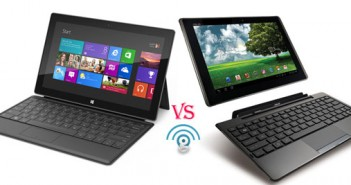 Microsoft Surface vs Asus Transformer Pad