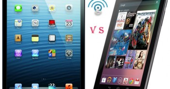 Apple iPad mini vs Nexus 7