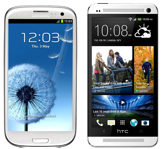 Samsung Galaxy S3 vs HTC One