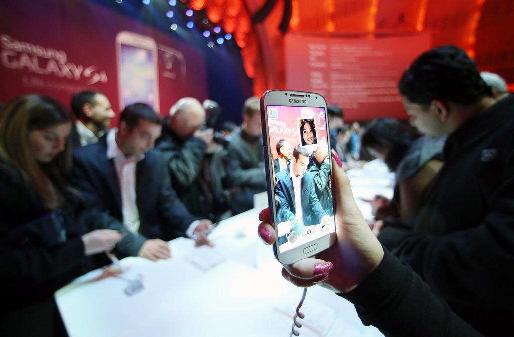 Galaxy S4 Samsung presentation