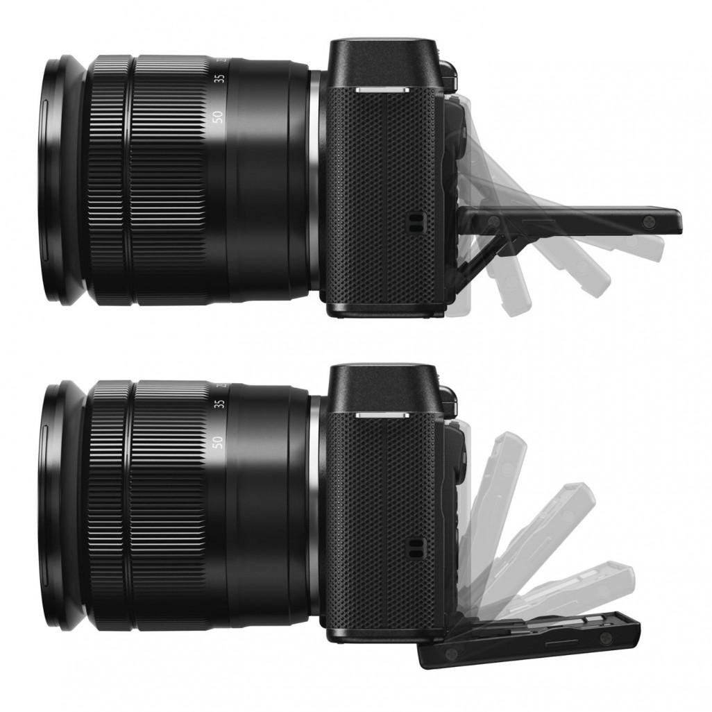 Fujifilm X-A1 tilting LCD