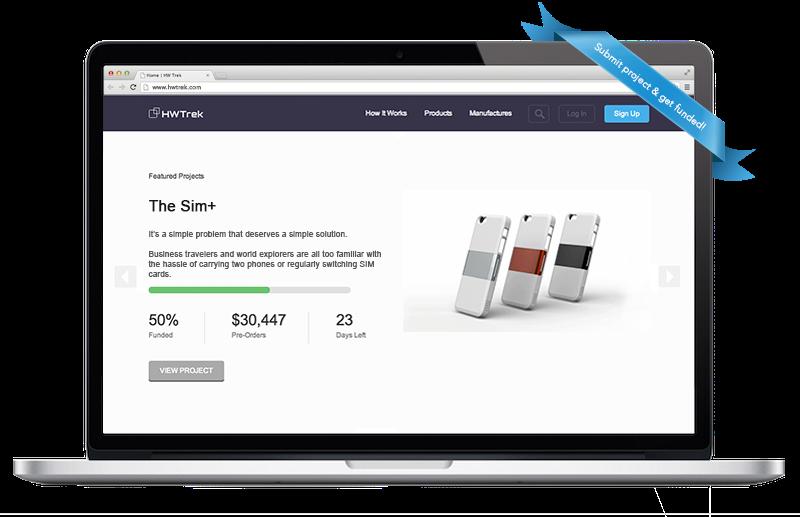 HWTrek crowdfunding platform