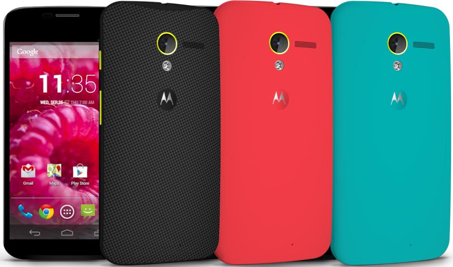 Motorola Moto X motomaker colors