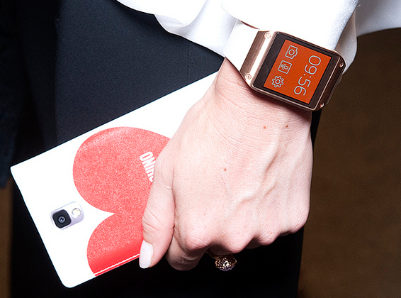 Samsung Galaxy Gear design