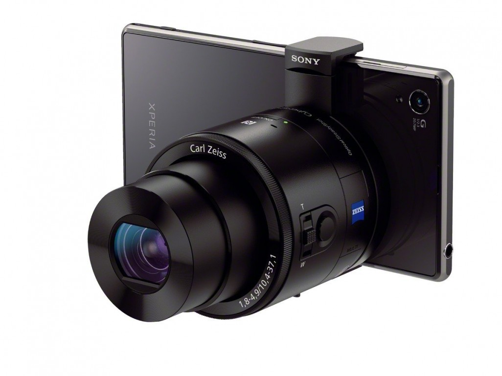Sony DSC-QX100 attachable lens camera
