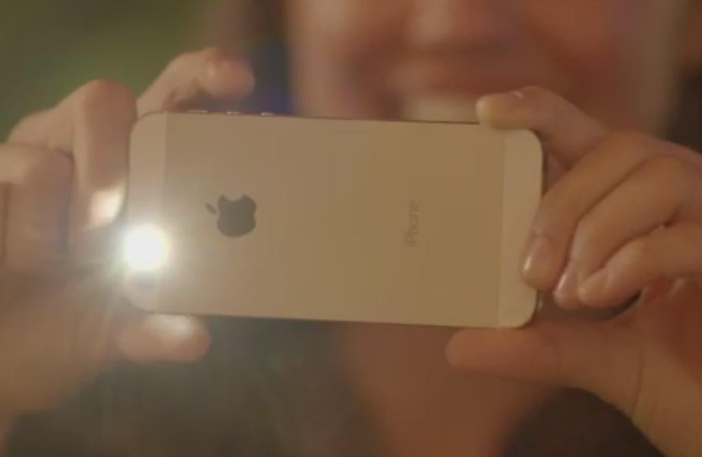 iPhone 5S True Tone flash