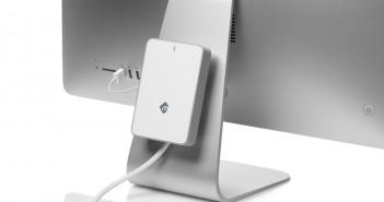 mLogic mBack - The First Zero-Footprint Hard Drive for iMac