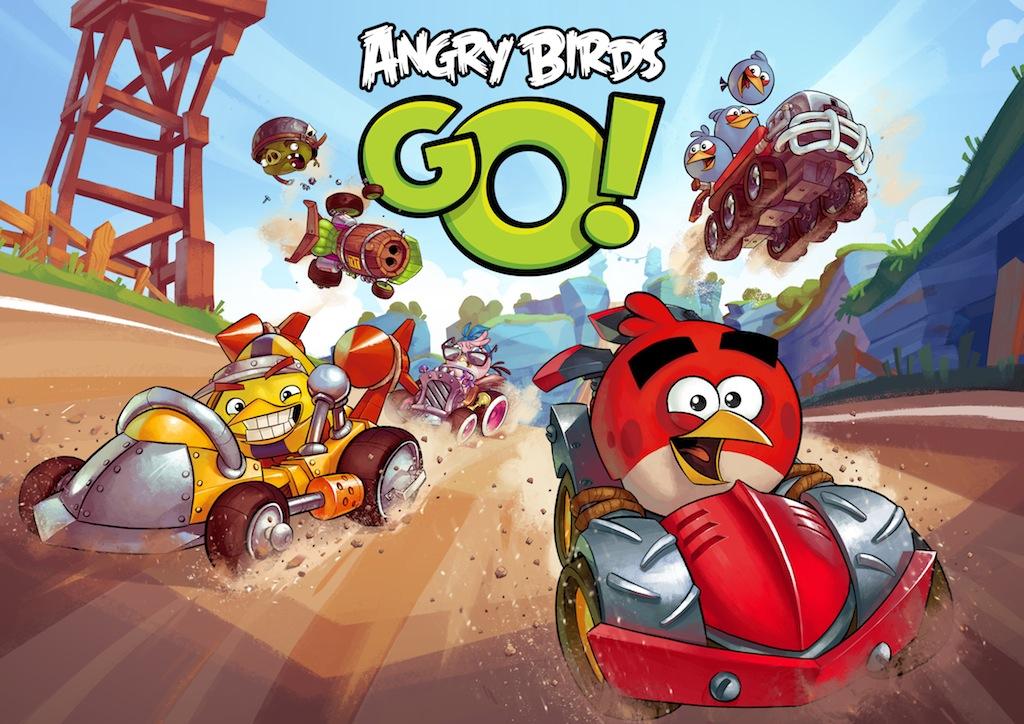Angry Birds GO racing game