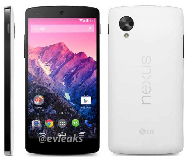 black and white Nexus 5