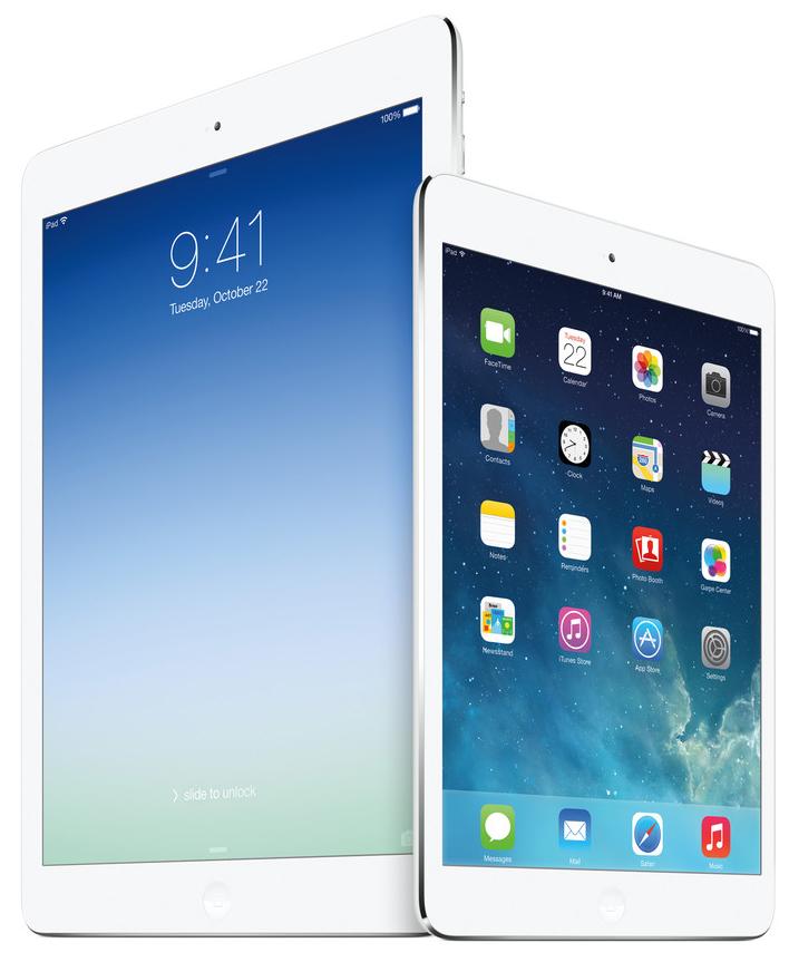 iPad Air retina iPad mini 2