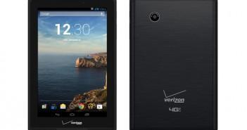 Verizon Ellipsis 7 inch tablet